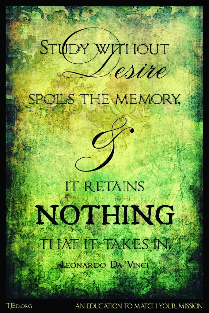 DaVinci-Study without Desire