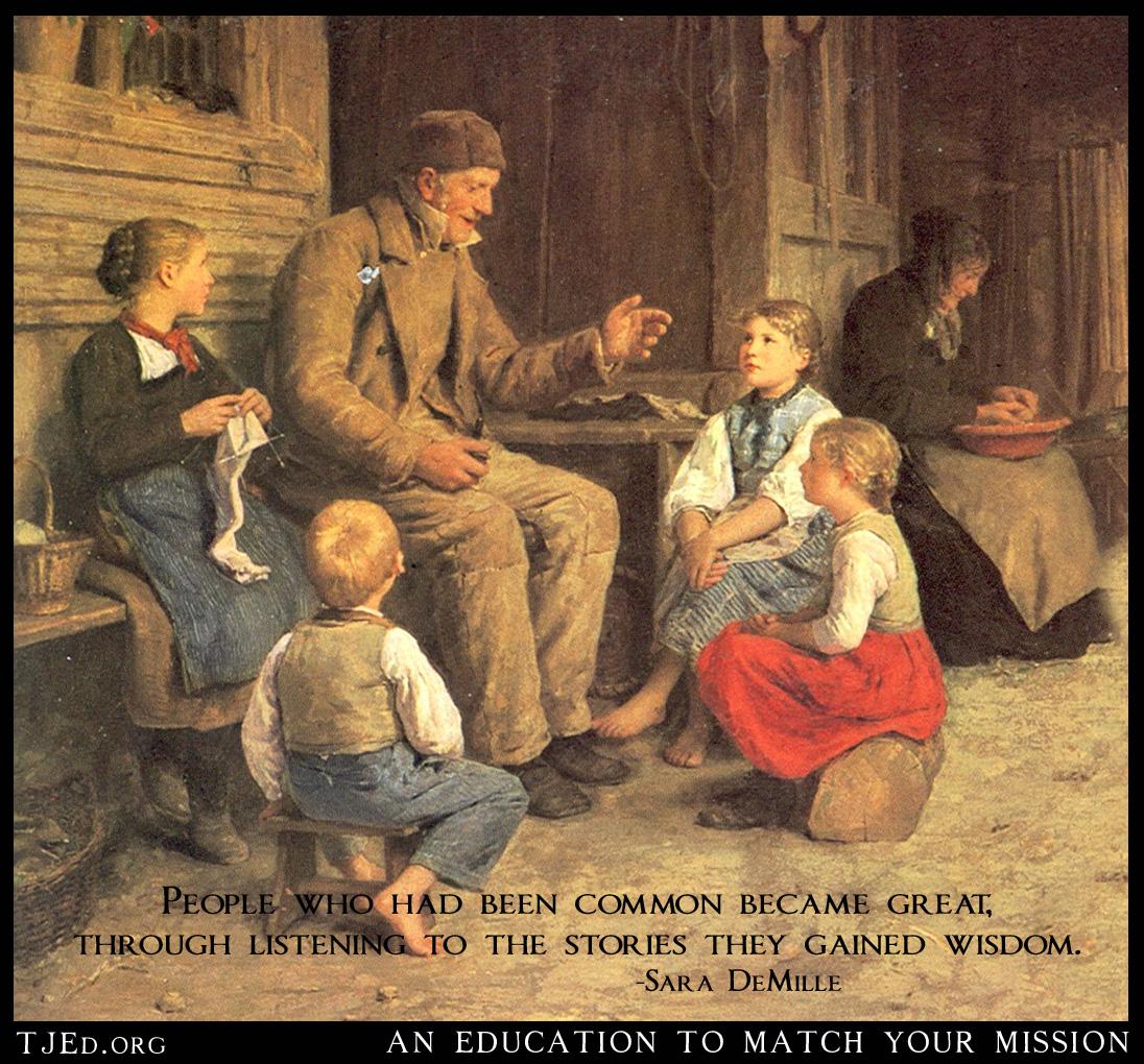Storyteller by Anker Grossvater 1884