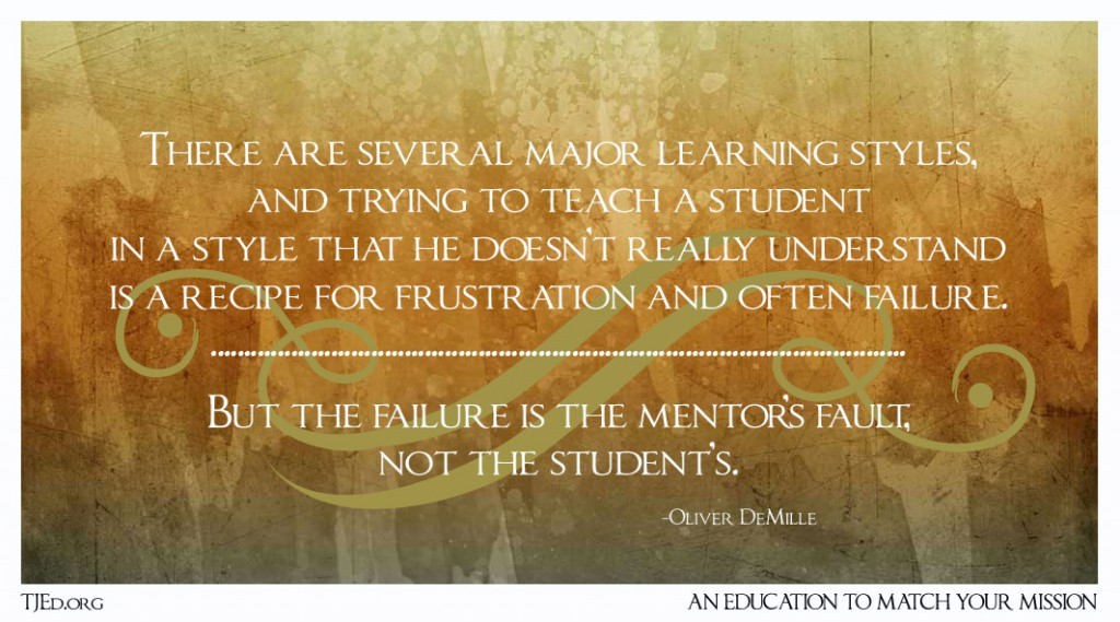 Learning Styles Matter-Mentors failure
