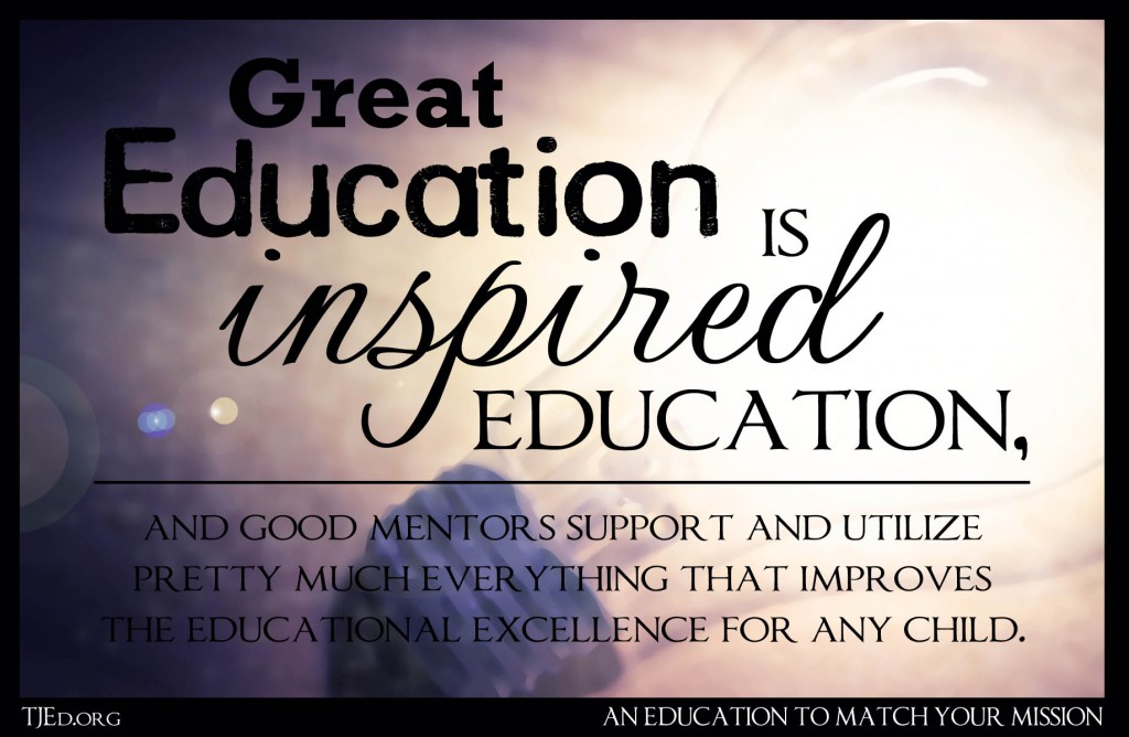 great education is inspired education