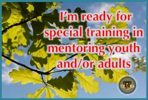 Special Training for Mentoring Youth and Adults